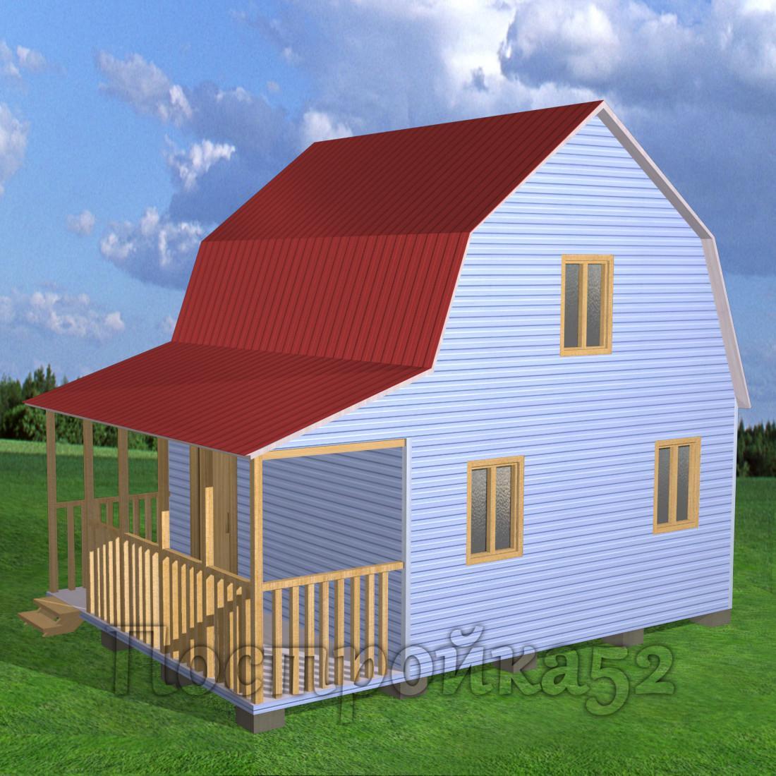 ПостройКа52 - строительство дачных домов, коттеджей, бань в Нижнем Новгороде