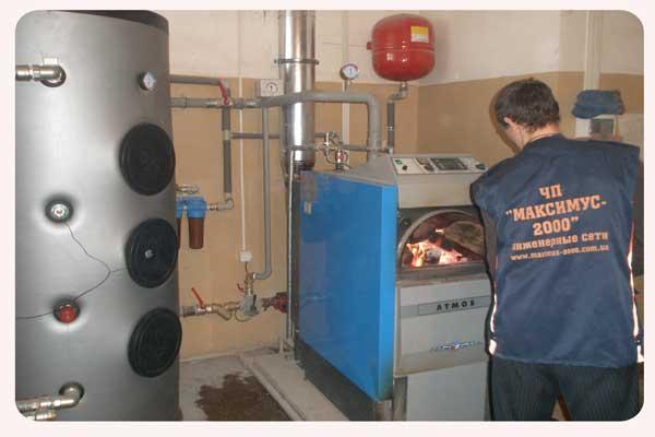 Котлы на твердом топливе для частного дома своими руками