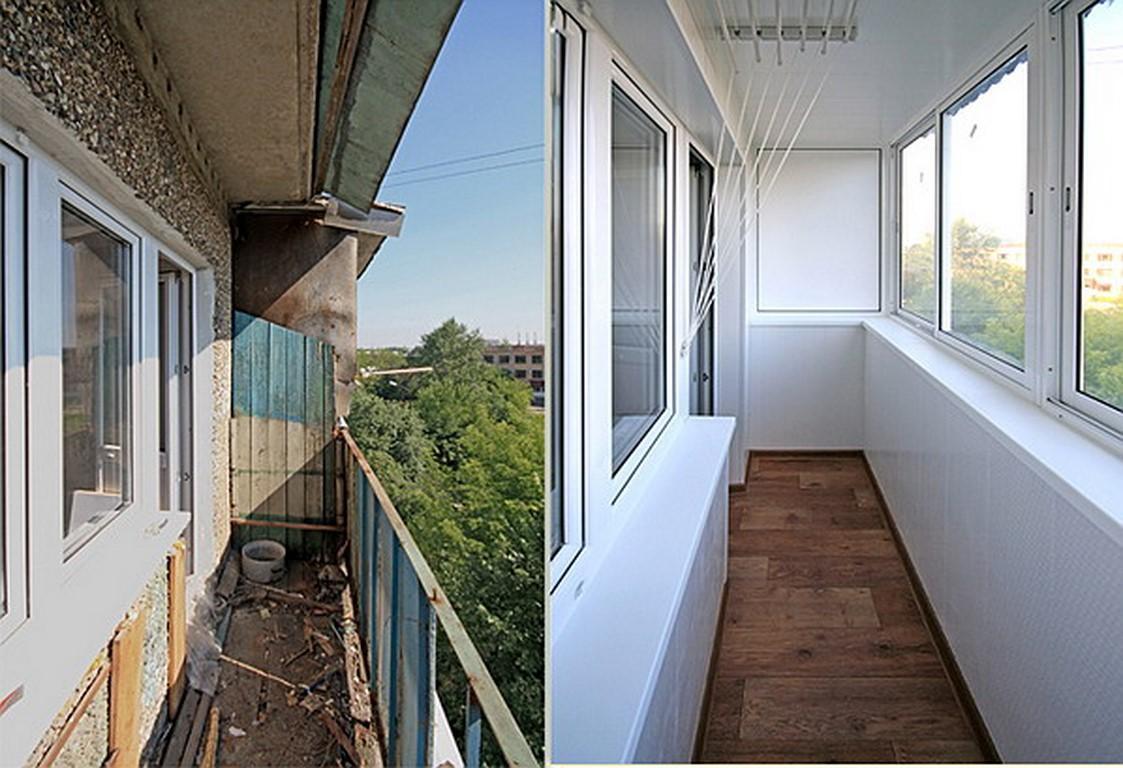 Остекление балконов и лоджий за один день.