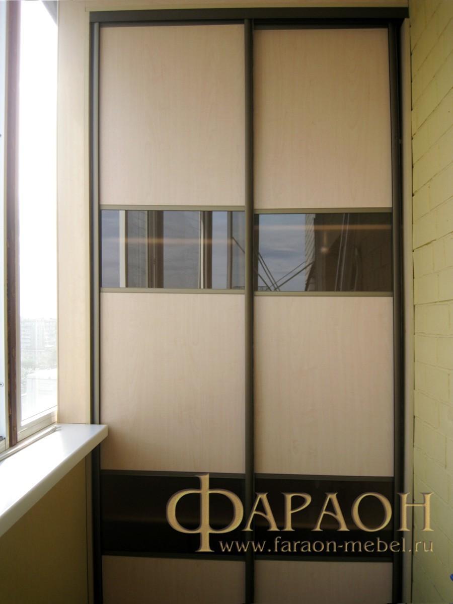 Мебель на балкон встроенная, компактная.